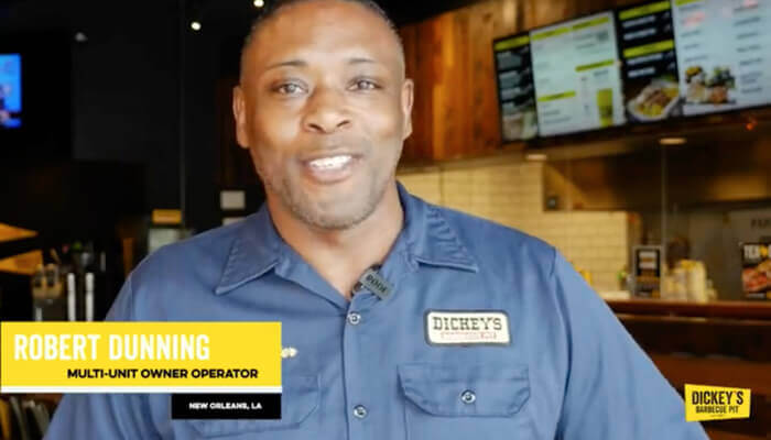 DIckey's BBQ Franchise Owner Testimonial