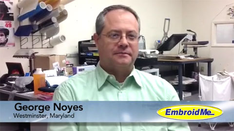 EmbroidMe Franchisee - George Noyes of Westminster, Maryland