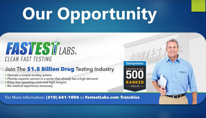 "Fastest Labs ""The Drug Testing Franchise"""