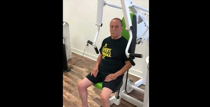 Bob shares an amazing and inspiring story about fit20