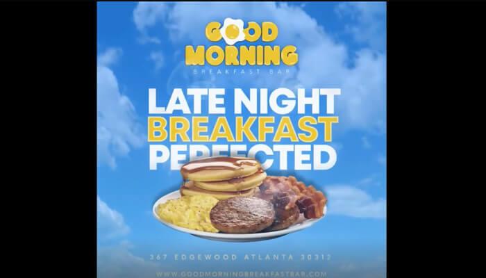 Late Night Breakfast Perfected -  Good Morning Breakfast Bar