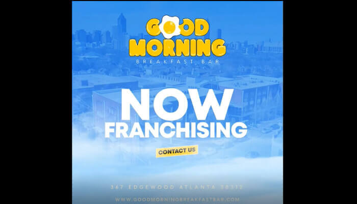 Now Franchising with Good Morning Breakfast Bar
