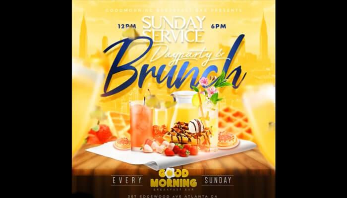 Sunday Brunch -  Good Morning Breakfast Bar