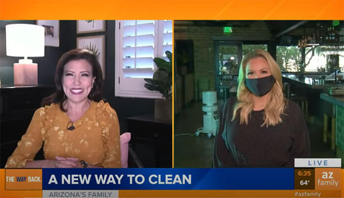 Hospitality Bio Cleaners on Channel 3 News