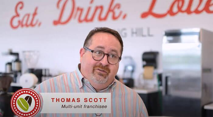 Just Love Coffee Franchise Testimonial: Thomas Scott