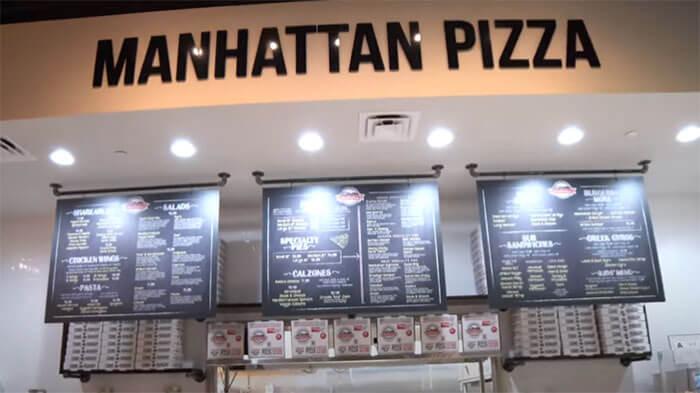 MANHATTAN PIZZA Tour of Store