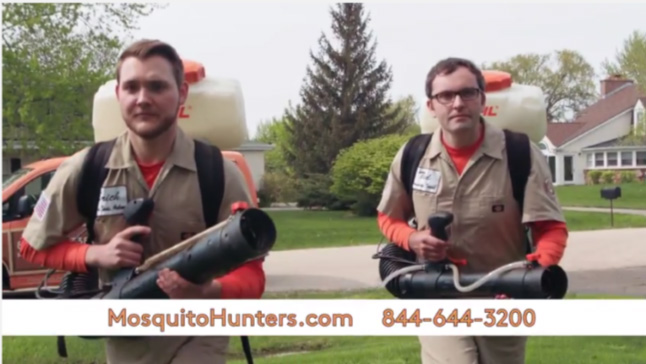 Mosquito Hunters Commercial