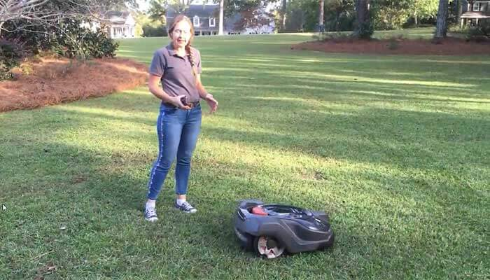 Mowbot robot mower system explained