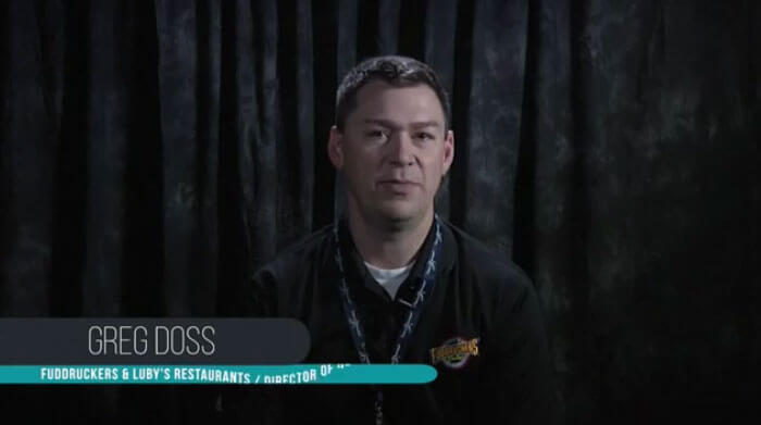 Client Testimonial - Greg Doss VP REcruiting Fuddruckers Luby's