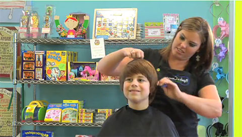 "Pigtails & Crewcuts - Haircuts for Kids: ""Beyond Great Haircuts"""