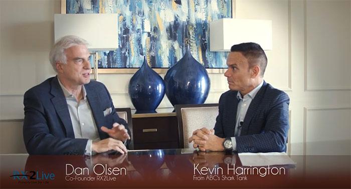 Kevin Harrington with Dan Olsen