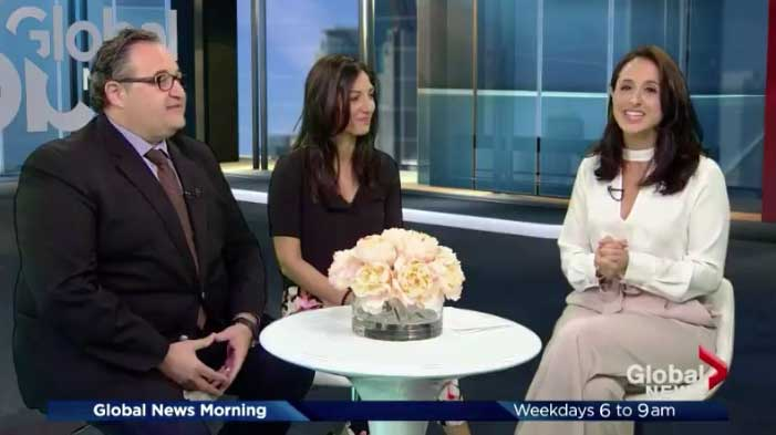 Erminio Zappitelli, S.A.M master franchisee on Global News Canada