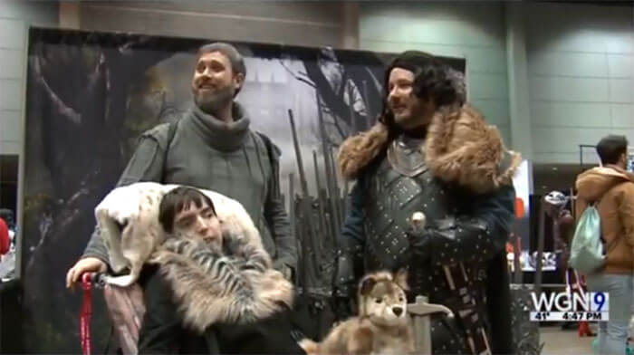 Game of Thrones' Hodor & Bran Stark Rule Comic Con