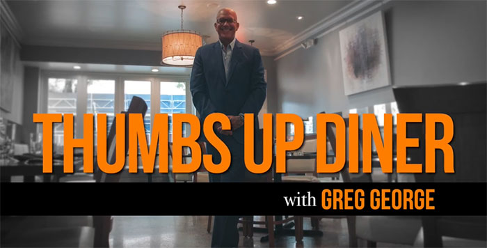Thumbs Up Diner with Greg George
