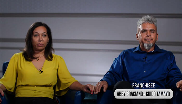 Abby Graciano and Guido Tamayo - Franchisee Testimonial Video