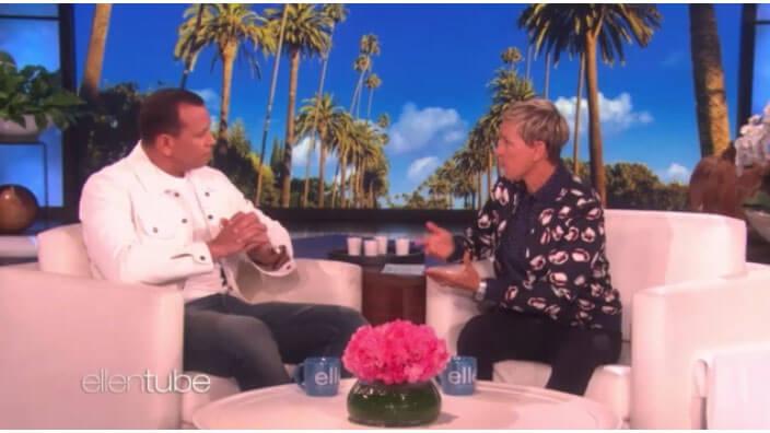 Ellen Interview With Alex Rodriguez